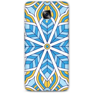 One Plus Three Designer Hard-Plastic Phone Cover From Print Opera - Colored Pattern