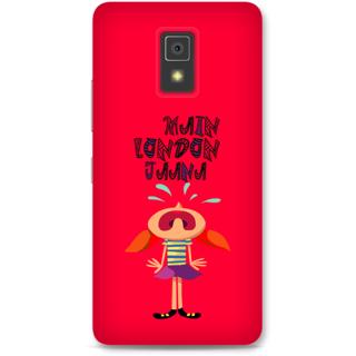 Lenovo A6600 Designer Hard-Plastic Phone Cover From Print Opera -Main London Jana