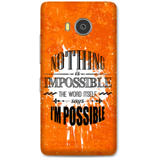 Lenovo A7700 Designer Hard-Plastic Phone Cover From Print Opera -Typography