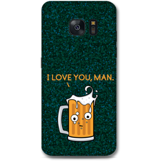 Samsung Galaxy S7 Edge Designer Hard-Plastic Phone Cover From Print Opera - Cup Of Beer