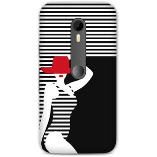 Moto G3 Designer Hard-Plastic Phone Cover From Print Opera - Beach Girl