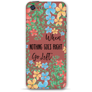 IPhone 5-5s Designer Hard-Plastic Phone Cover From Print Opera - Nothing Goes Right Take Left