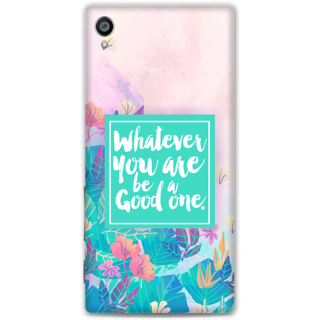 Sony Xperia Z5 Premium Designer Hard-Plastic Phone Cover From Print Opera - Be A Good One