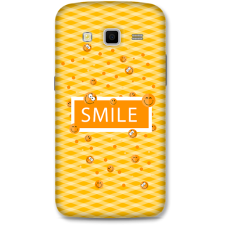 Samsung Galaxy Grand 2 Designer Hard-Plastic Phone Cover From Print Opera - Smilies