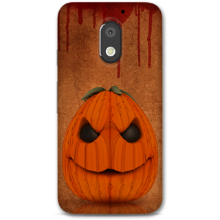 Moto E3 Power Designer Hard-Plastic Phone Cover From Print Opera -Cute Halloween
