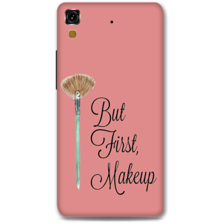 Micromax Yureka Designer Hard-Plastic Phone Cover From Print Opera - First Makeup