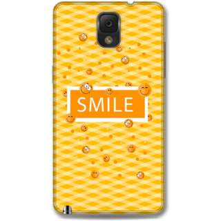 Samsung Galaxy Note 3 Designer Hard-Plastic Phone Cover From Print Opera - Smilies