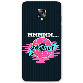 One Plus Three Designer Hard-Plastic Phone Cover From Print Opera - Doughnut