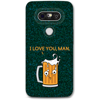 Lg G5 Designer Hard-Plastic Phone Cover From Print Opera - Cup Of Beer