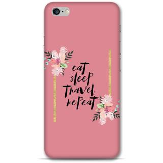 IPhone 6-6s Plus Designer Hard-Plastic Phone Cover From Print Opera - Eat Sleep Travel Repeat