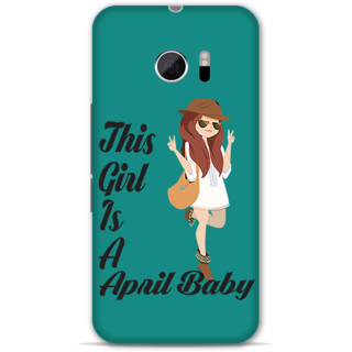Htc 10 Designer Hard-Plastic Phone Cover From Print Opera -April Baby Girl