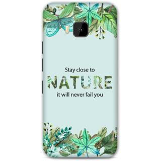HTC One M9 Designer Hard-Plastic Phone Cover From Print Opera - Nature