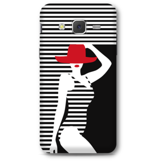 Samsung Galaxy J5 2015 Designer Hard-Plastic Phone Cover From Print Opera - Beach Girl