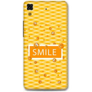 Micromax Yureka Designer Hard-Plastic Phone Cover From Print Opera - Smilies