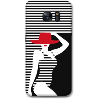 Samsung Galaxy S7 Designer Hard-Plastic Phone Cover From Print Opera - Beach Girl