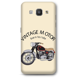 Samsung Galaxy A8 2015 Designer Hard-Plastic Phone Cover From Print Opera - Vintage Motor