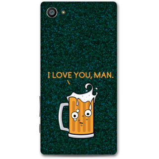 Sony Xperia Z5 Compact Designer Hard-Plastic Phone Cover From Print Opera - Cup Of Beer