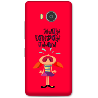 Lenovo A7700 Designer Hard-Plastic Phone Cover From Print Opera -Main London Jana