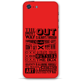 IPhone 5-5s Designer Hard-Plastic Phone Cover From Print Opera -Creativity
