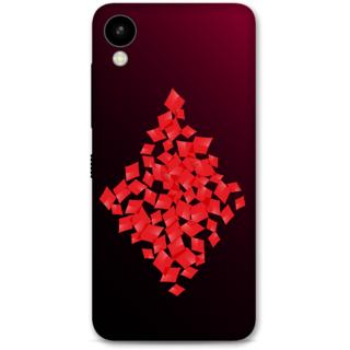 HTC 825 Designer Hard-Plastic Phone Cover From Print Opera -Diamonds