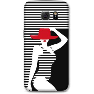 Samsung Galaxy S6 Designer Hard-Plastic Phone Cover From Print Opera - Beach Girl