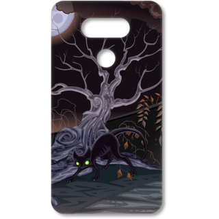 Lg G5 Printed Back Covers From Print Opera  Horrible Tree & Cat