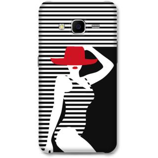 Samsung Galaxy J7 2015 Designer Hard-Plastic Phone Cover From Print Opera - Beach Girl