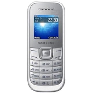 Samsung E1200 Mobile Phone (White)