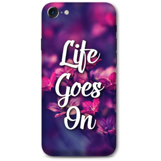 Iphone 7 Designer Hard-Plastic Phone Cover From Print Opera -Life Goes On