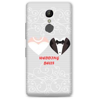 Gionee S6S Designer Hard-Plastic Phone Cover FrWedding Bells Print Opera -Wedding Bells
