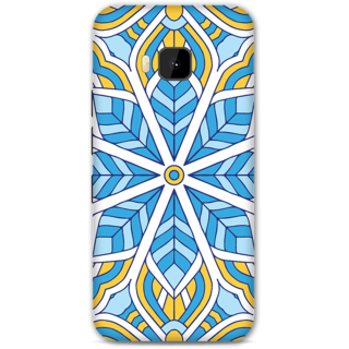 HTC One M9 Designer Hard-Plastic Phone Cover From Print Opera - Colored Pattern