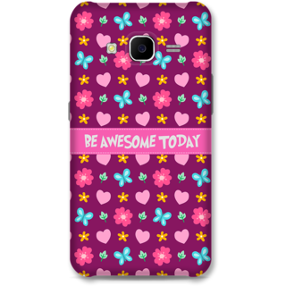 Samsung Galaxy J7 2015 Designer Hard-Plastic Phone Cover From Print Opera - Be Awesome Today
