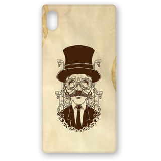 Sony Xperia Z5 Premium Printed Back Covers From Print Opera  Seholastic Moustache
