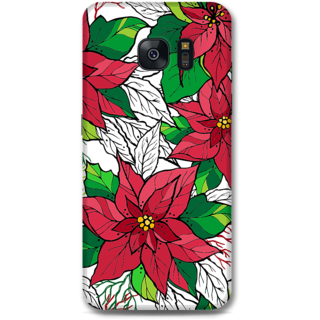 Samsung Galaxy S7 Edge Designer Hard-Plastic Phone Cover From Print Opera - Flowers