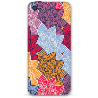 IPhone 5-5s Designer Hard-Plastic Phone Cover From Print Opera - Colored Designer Flowers