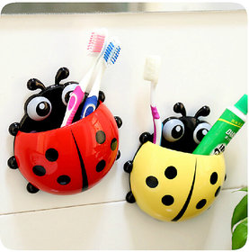 Funny insect shape bathroom holder kids suction cup toothbrush holder( 1 pcs)