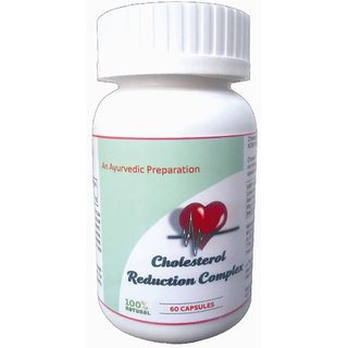 Hawaiian herbal cholesterol reduction complex capsule