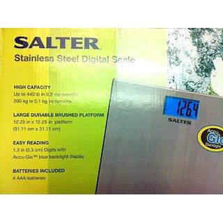 Salter Stainless Steel Digital Scale Accu-GloTM Backlight - 440 Lbs