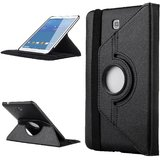Callmate 360 Degree Rotating Case For Samsung Tab 4 8.0 T330/T331/T335 - Black