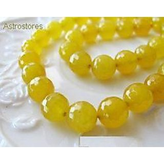 Yellow Hakik Mala ( Yellow Agate Rosary )