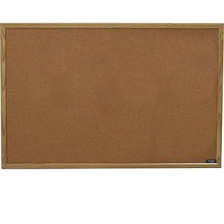 Buy Board Dudes 23 X 35 Wood Style Frame Cork Board Cxm86 Online