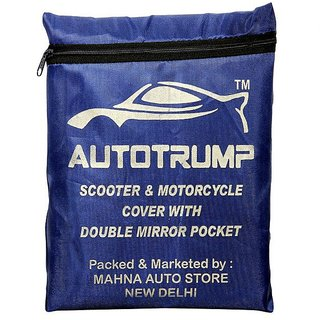AUTOTRUMP Premium Quality Bike Body Cover Waterproof For TVS Scooty Zest 110