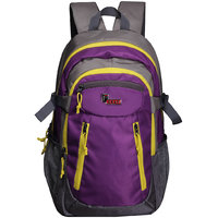 F Gear Profound 30 Liters Laptop Backpack (Purple, Yell