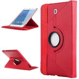 Callmate 360 Degree Rotating Case For Samsung Tab 4 8.0 T330/T331/T335 - Red