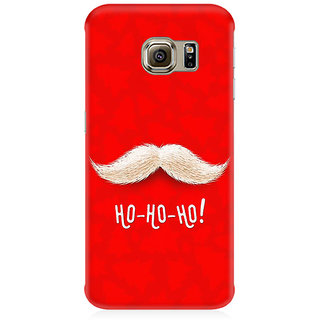RAYITE Ho Ho Ho Premium Printed Mobile Back Case Cover For Samsung S7 Edge