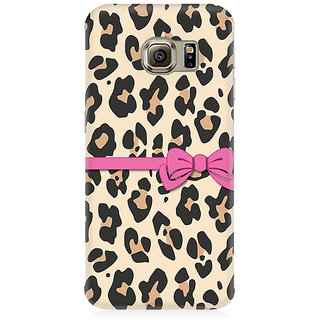 RAYITE Cheetah Gift Wrap Premium Printed Mobile Back Case Cover For Samsung S6 Edge Plus