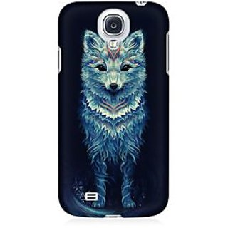 RAYITE Geometric Fox Art Premium Printed Mobile Back Case Cover For Samsung S4