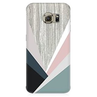 RAYITE Wood Art Premium Printed Mobile Back Case Cover For Samsung S6