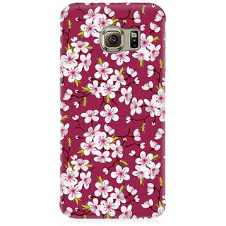 RAYITE Floral Climber Premium Printed Mobile Back Case Cover For Samsung S7