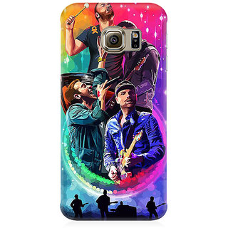 RAYITE Coldplay Art Premium Printed Mobile Back Case Cover For Samsung S6 Edge Plus
